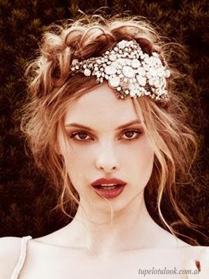 peinados para novias 2014