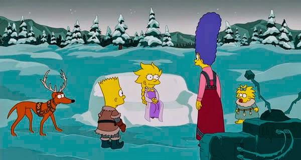 Los Simpson homenajean a Froze