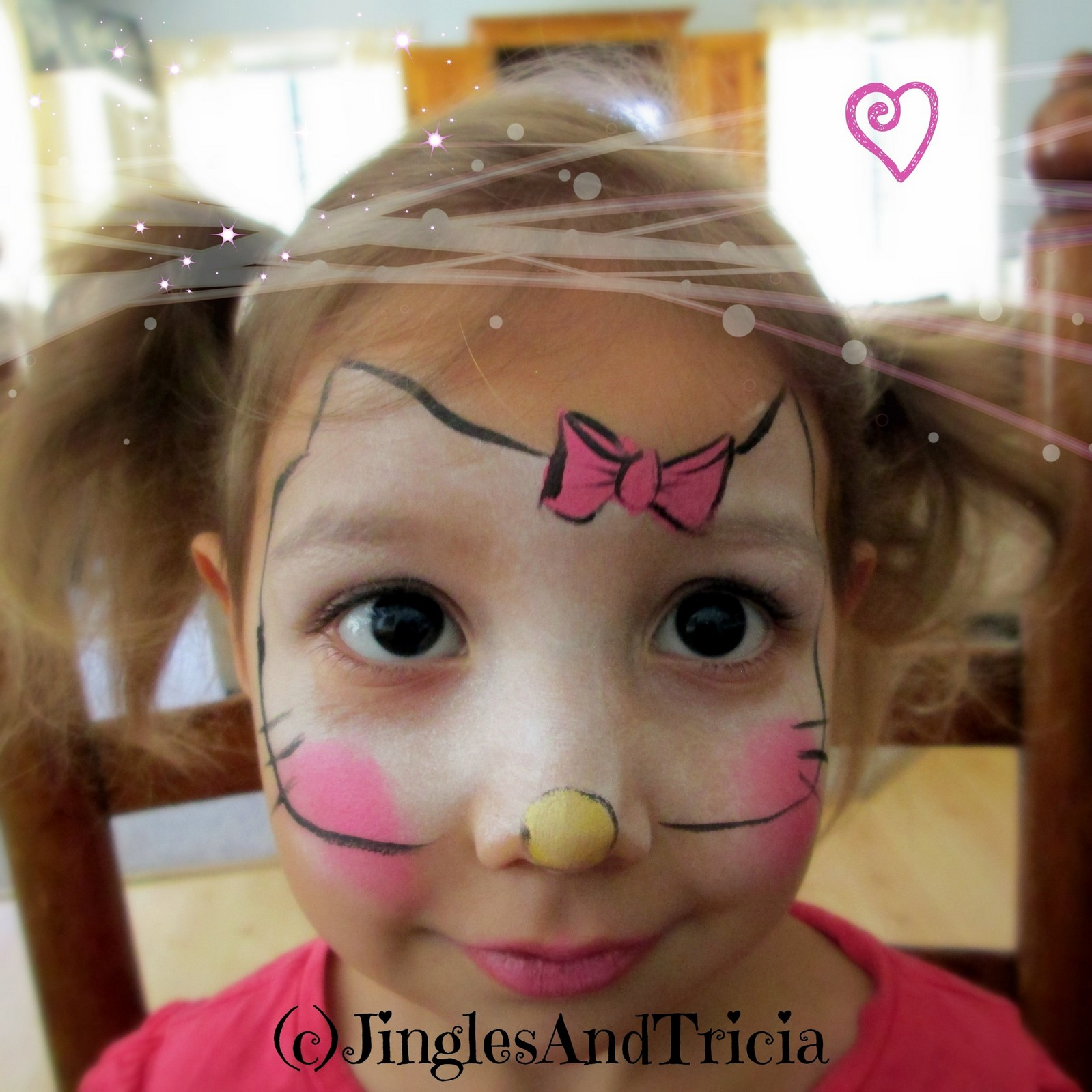 S Face Painting Easy Designs Hello Kitty
