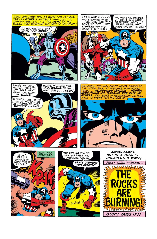 Captain America (1968) Issue #196 #110 - English 17