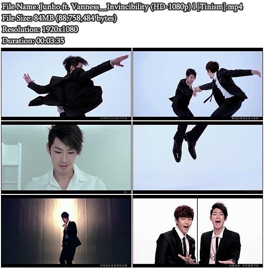 MV Junho (2PM) ft. Vanness - Invincibility (不敗,Bubai) (HD 1080p)