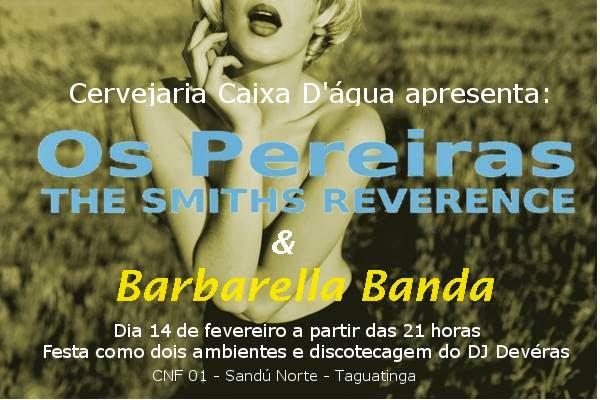 BARBARELLA E OS PEREIRAS NO KARECA 14/02/2014