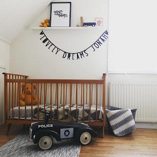 Ondeugende Spruit babykamer make-over inrichting