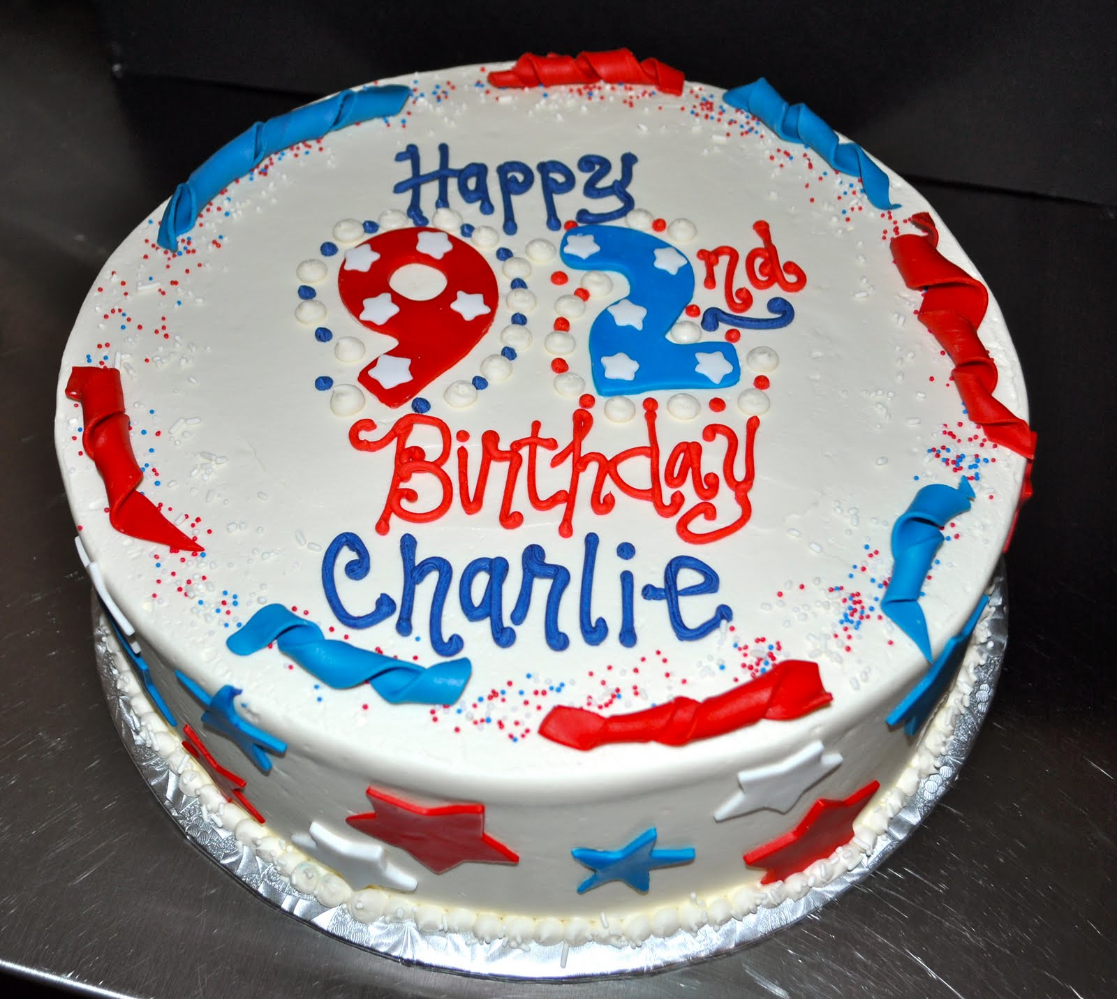 Cake Decoration Day : Leah s Sweet Treats: Memorial Day Birthday Cake
