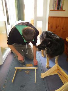 frame building, deep brood, kids, dogs