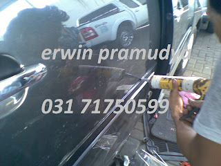 Toyota Innova perbaikan Side Body Moulding