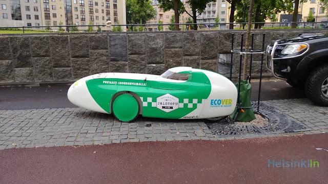weird Finnish vehicle