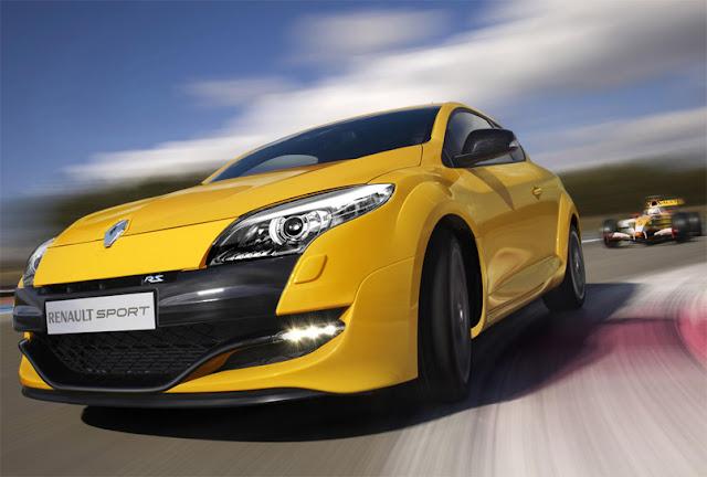 Renault megana rs sport cars