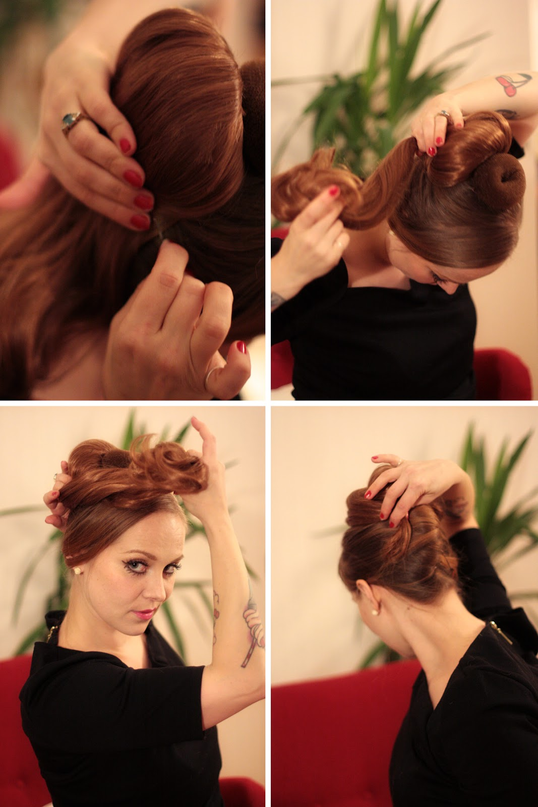 The Freelancer39s Fashionblog THE 196039s BIG TWIRL UPDOS