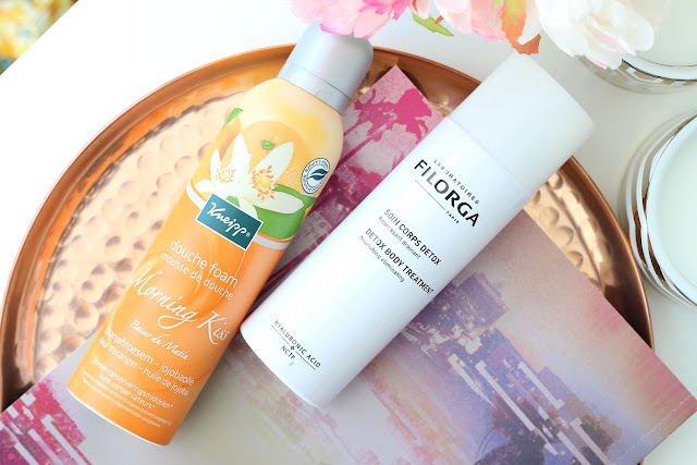 Kneipp douche foam Morning Kiss Filorga Body Detox