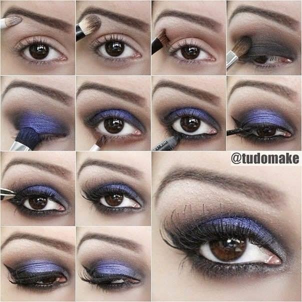 Eye Make Up Step By Step...