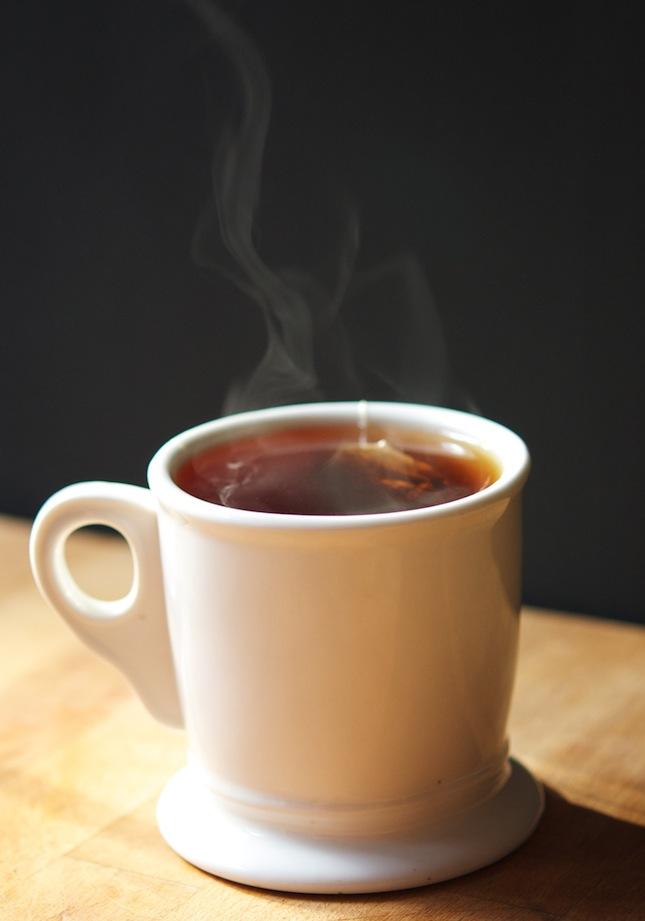Oversteeping cup of tea
