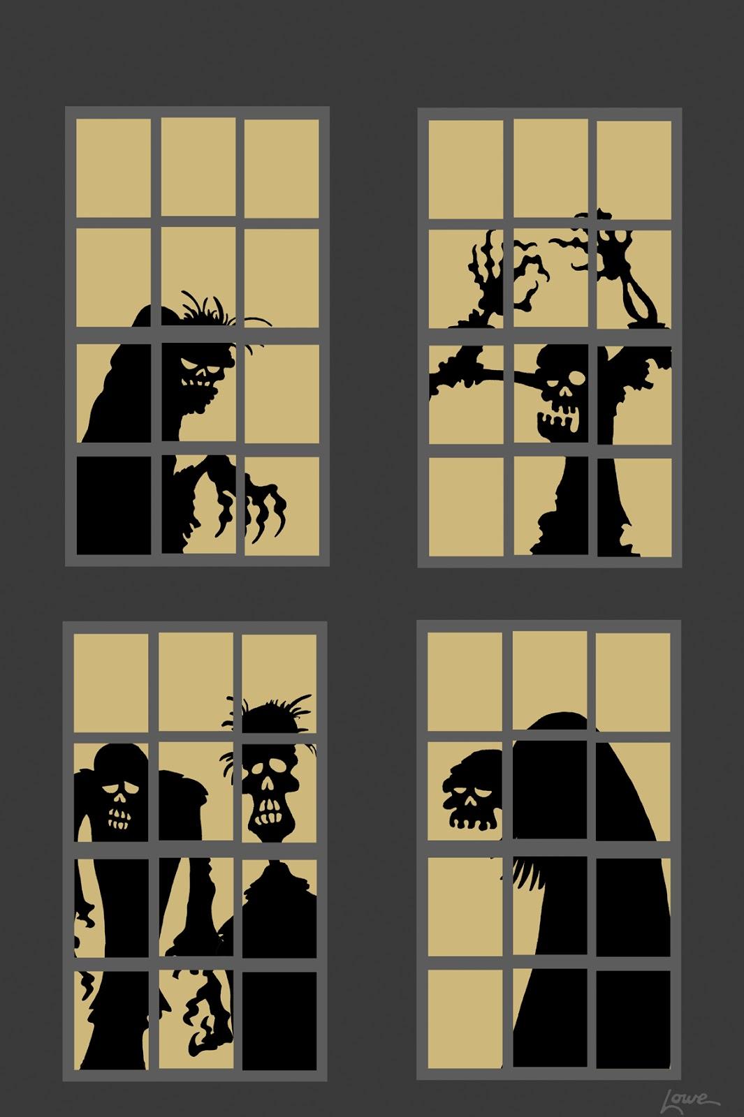 DAVE LOWE DESIGN the Blog: 63 Days 'Til Halloween: Zombie ...