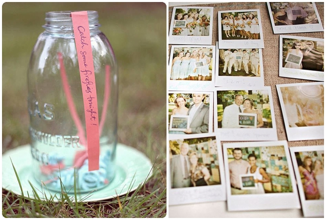 Fabulous Polaroid Wedding Pictures Guest Book