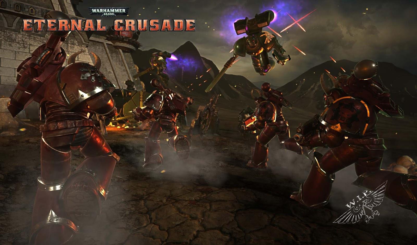 Eternal crusade стрим