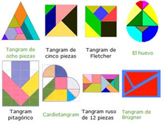 De Personas Figuras De Letras Aunque Originariamente El Tangram