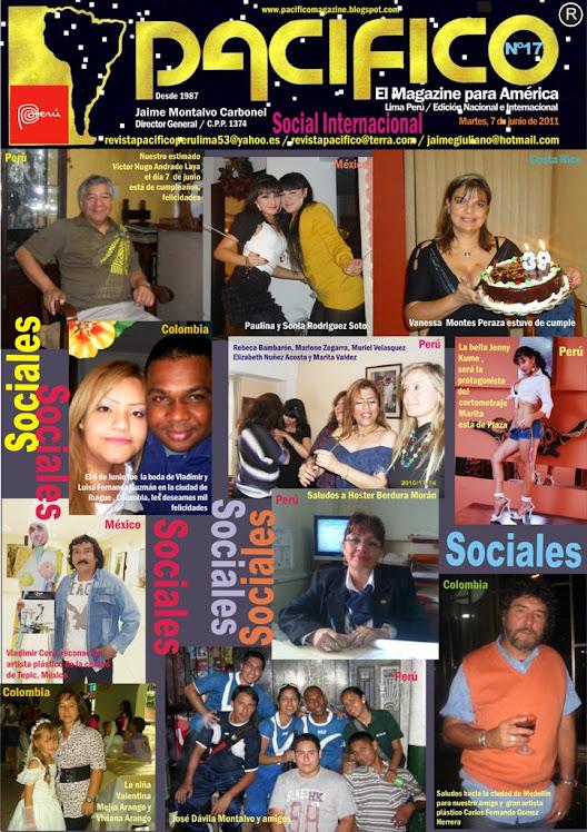 Revista Pacífico Nº 17 social internacional