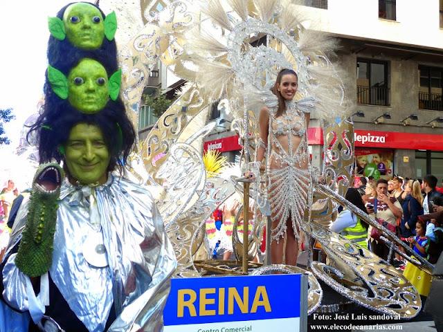 cabalgata entierro de la sardina carnaval 2016 partido UD Las Palmas - Barcelona coinciden