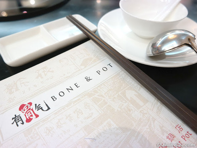 Bone & Pot menu