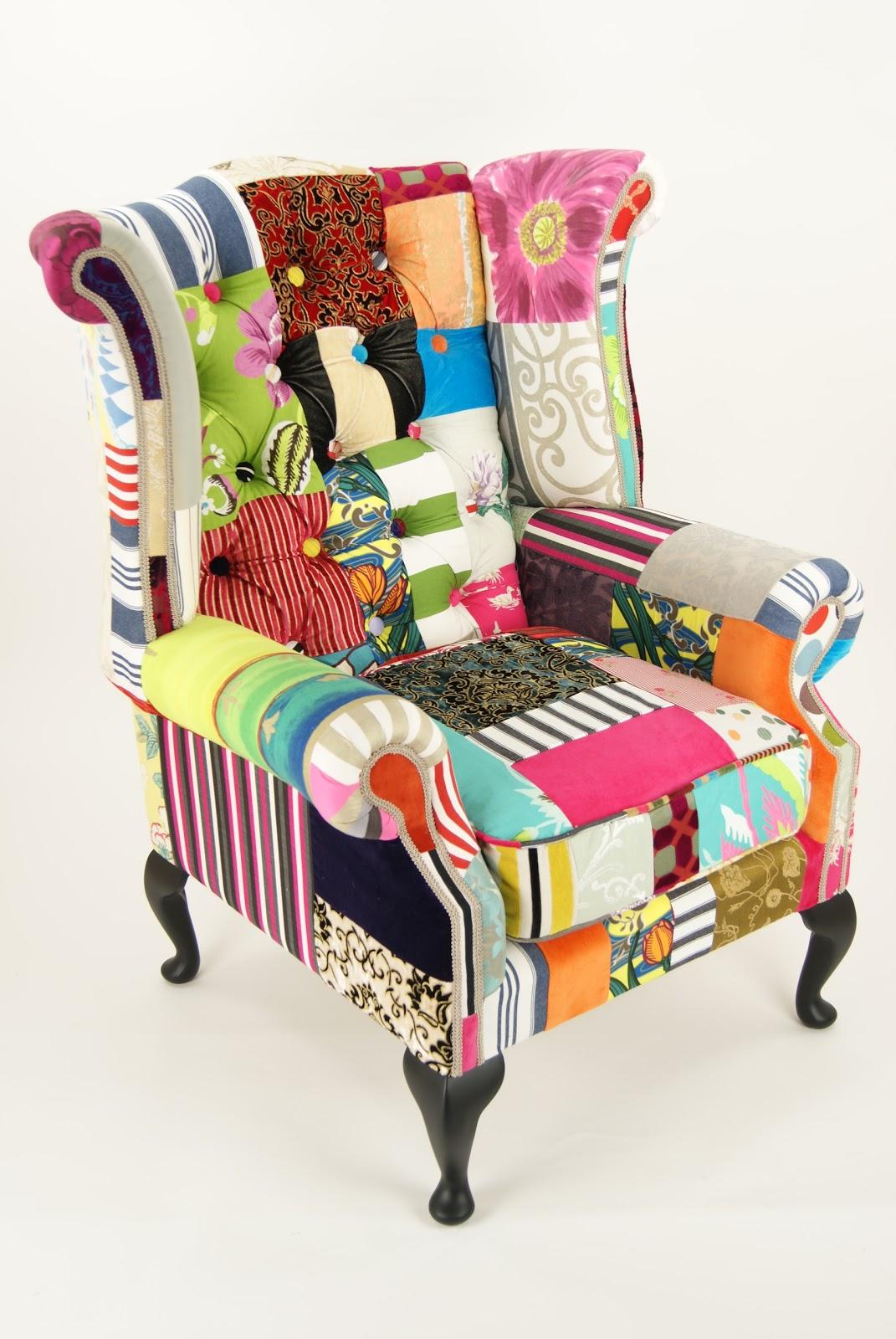 La casa de los mart nez nuevos tejidos para viejos sillones new fabrics for old armchairs - Sillones originales ...