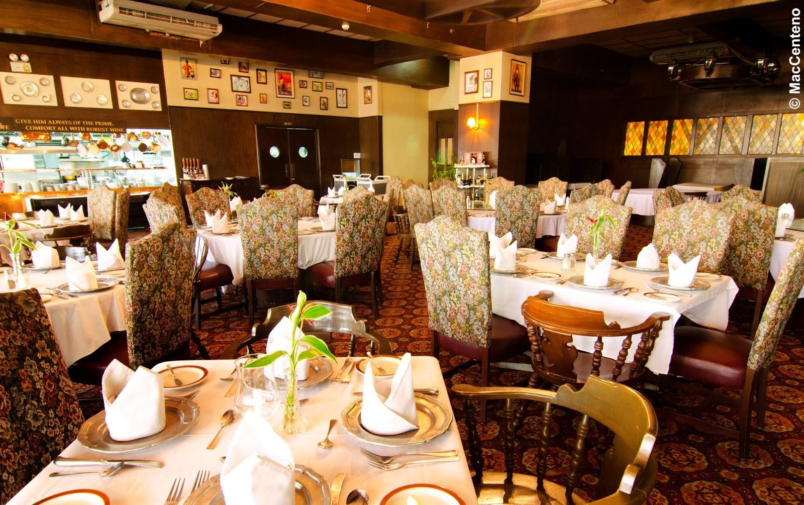 Aberdeen Court Restaurant Menu