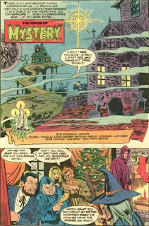 The House of Mystery from DC Super Star Holiday Special