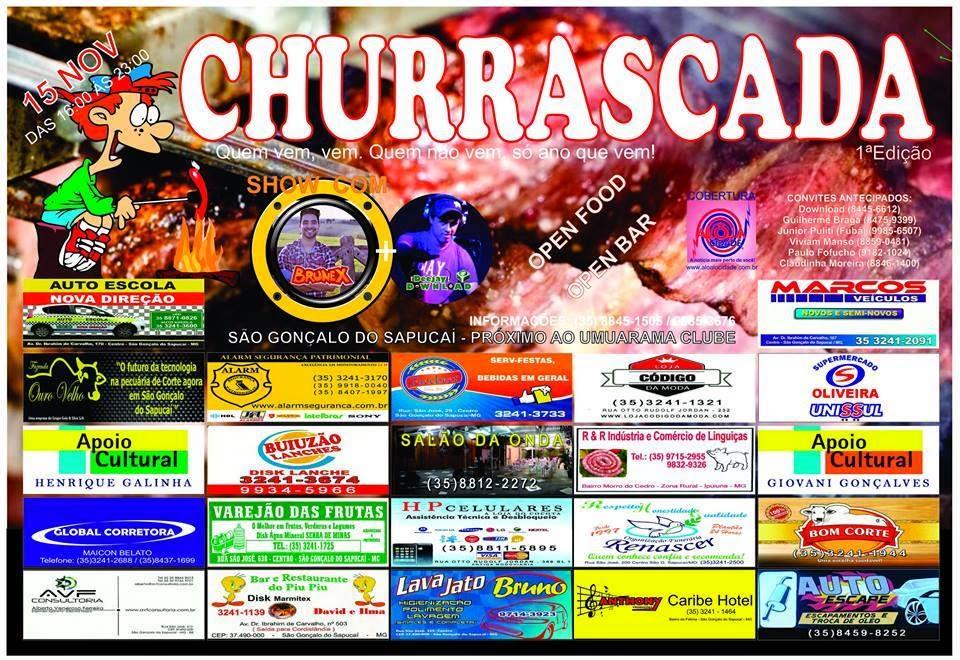 Churrascada  - São G. do Sapucaí