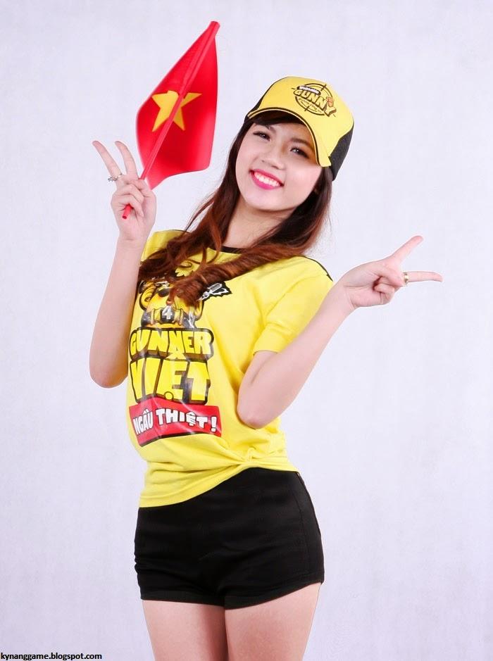 Nữ Hoàng Cổ Động Việt Nam tại Giải đấu Gunny World Championship 2013