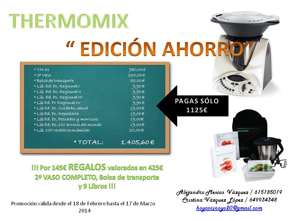 Thermomix recetas de cocina febrero 2014 - Servicio tecnico thermomix sevilla ...