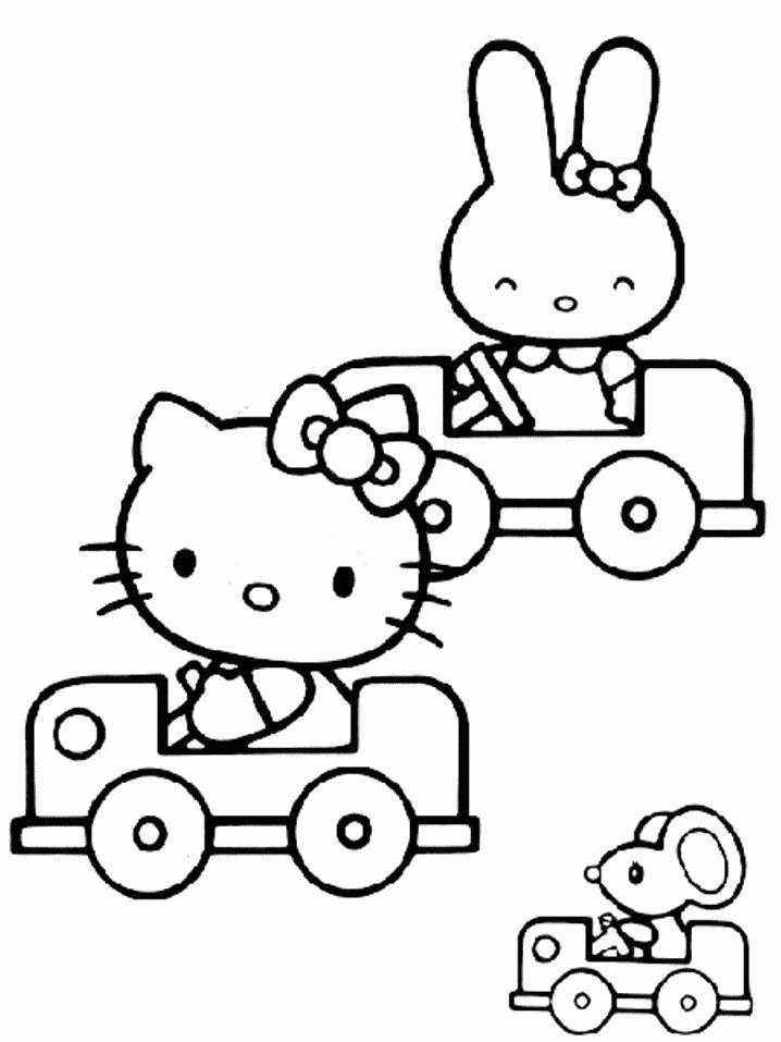 Hello Kitty Jogos de Colorir e Pintar