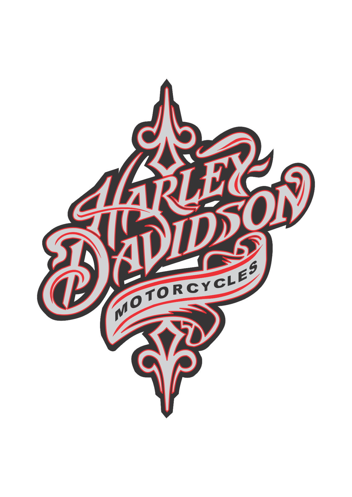 download Logo Harley davidson motorcycles Vector