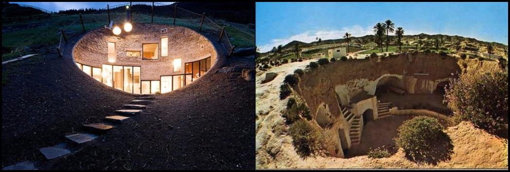 Troglodyte dwelling 1049 354 mountain for Architecture troglodyte