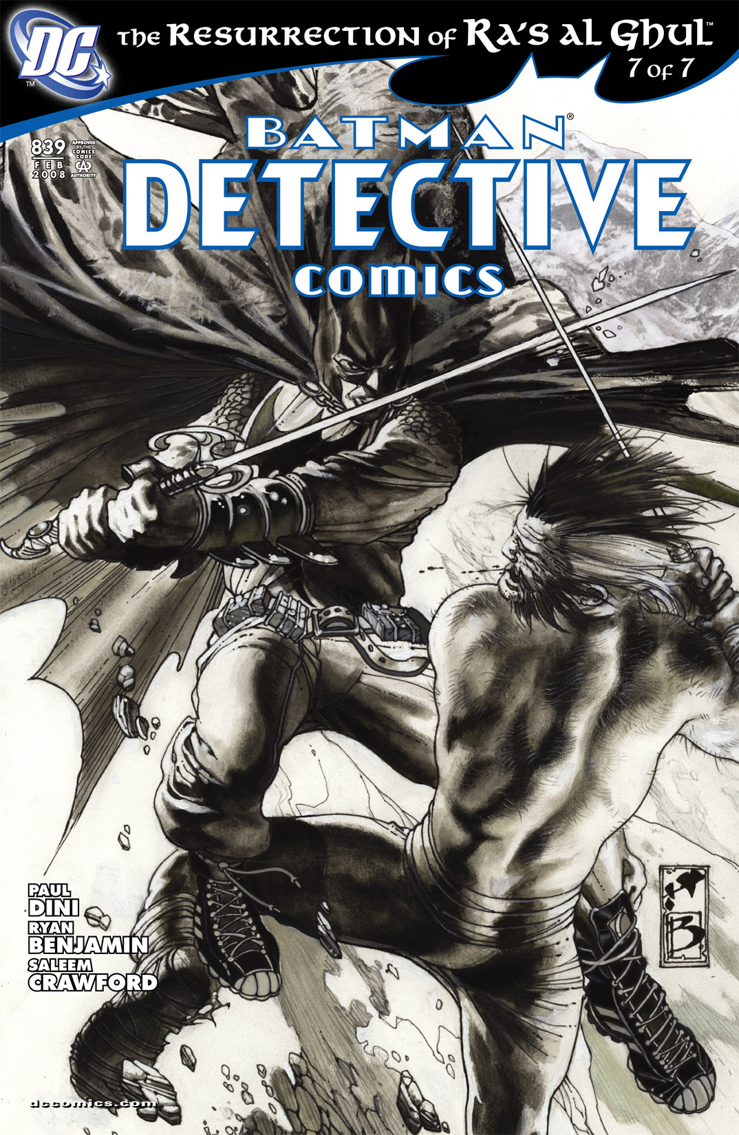 Detective Comics (1937) 839 Page 1