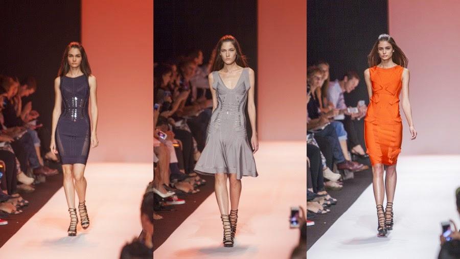 Hervé Léger by Max Azria presentó colección Primavera-Verano 2015 en la Semana de la Moda Mercedes-Benz en Nueva York