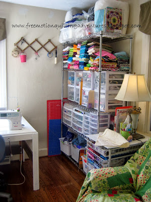 Free Motion Quilting Adventures Studio Tour