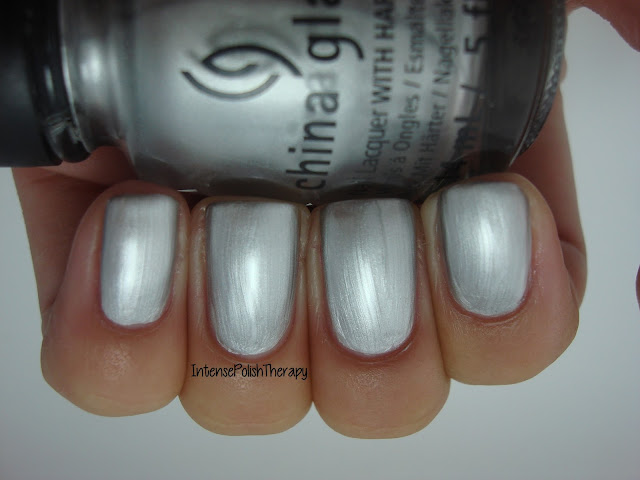 China Glaze - Platinum Silver