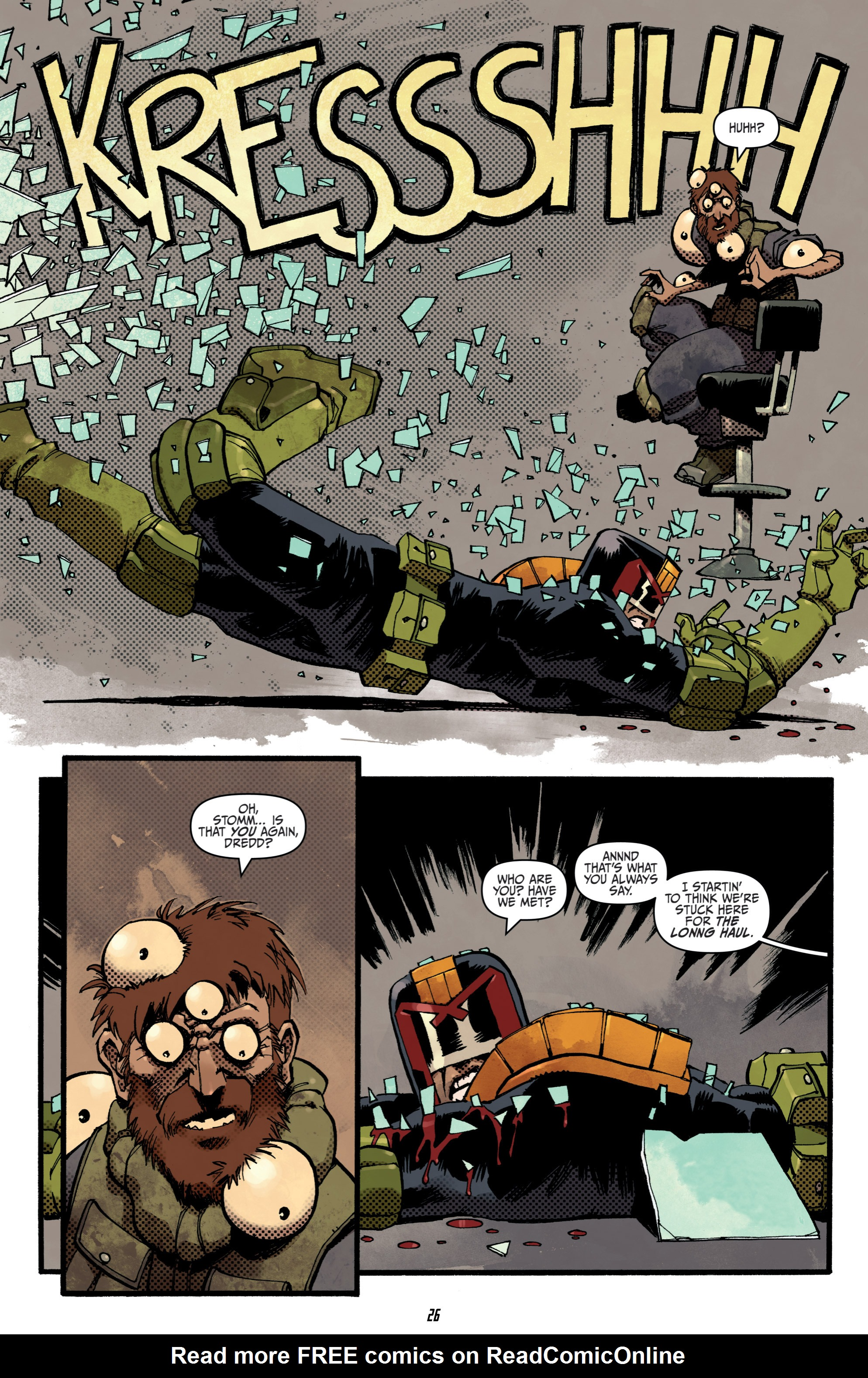 Read online Judge Dredd (2012) comic -  Issue # _TPB 3 - 26
