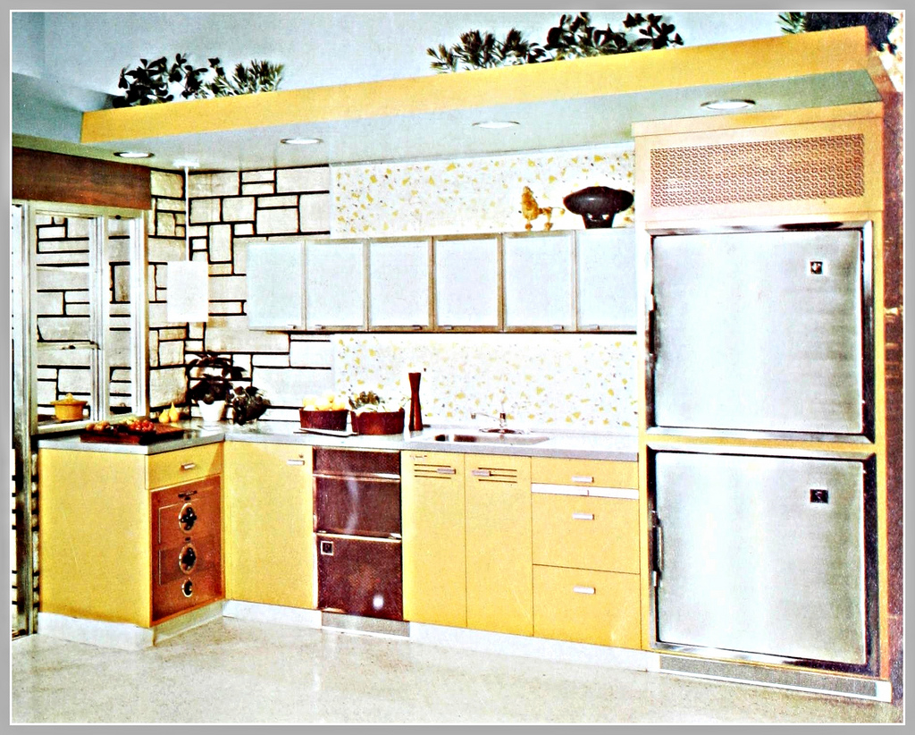 EverythingCroton: 1960, MORE MID-CENTURY MODERN KITCHEN MADNESS: HOW ...