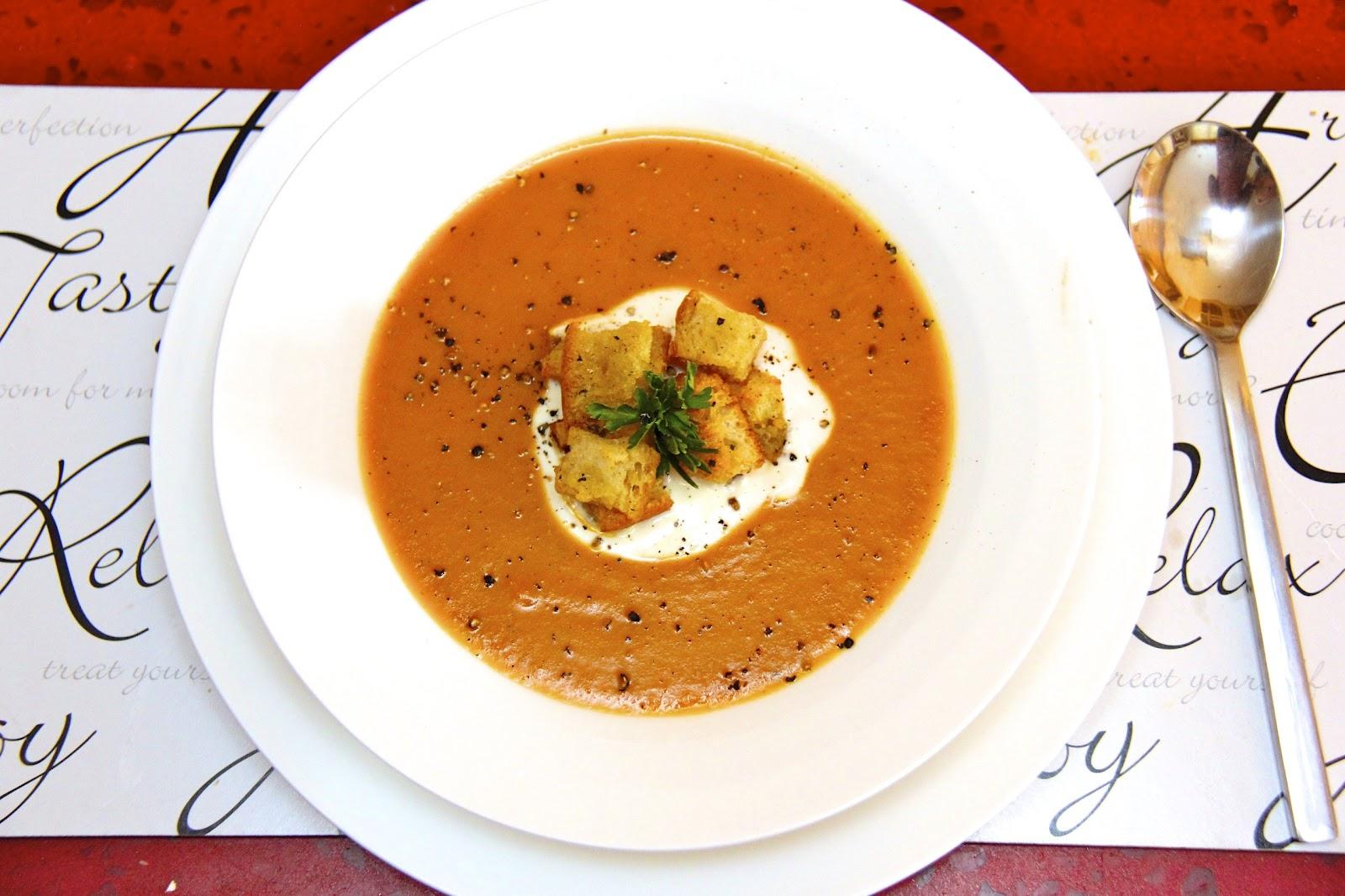 Roasted Tomato & Potato Soup w/ Herbes de Provence ...
