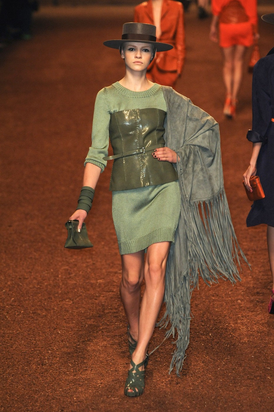 via fashioned by love | Hermes Spring/Summer 2011 | green
