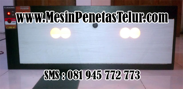 Alat Penetas Telur : C200 AT