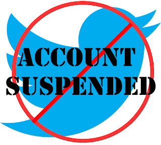 Akun Twitter Suspended