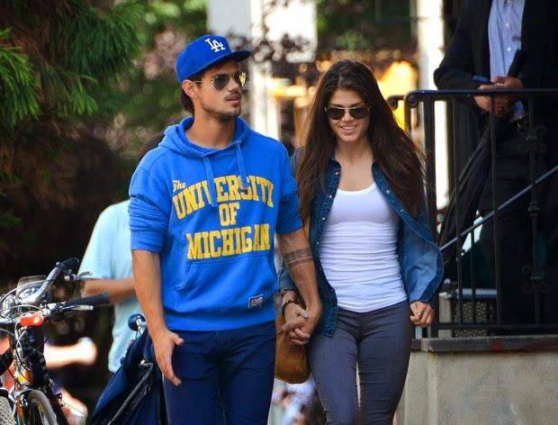 Taylor Lautner breaks up with Marie Avgeropoulous