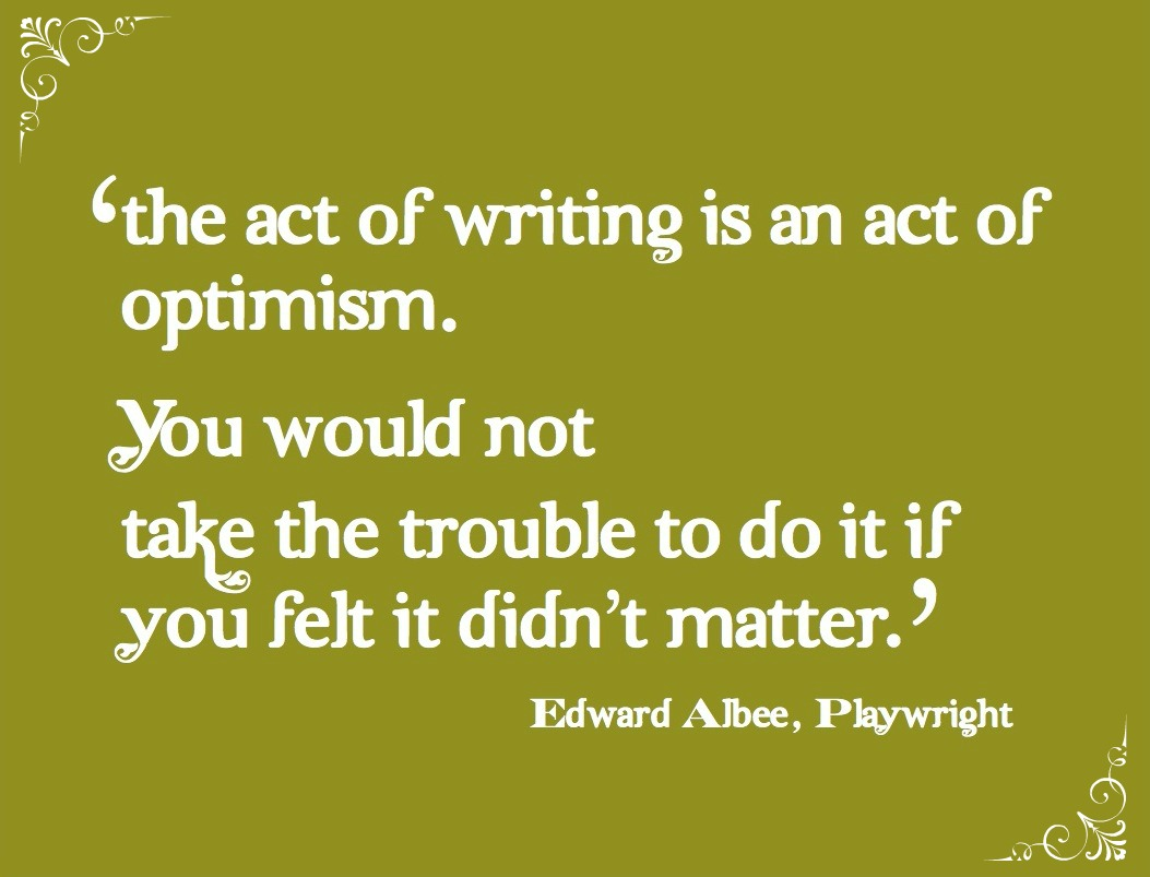 optimism quote with - photo #3