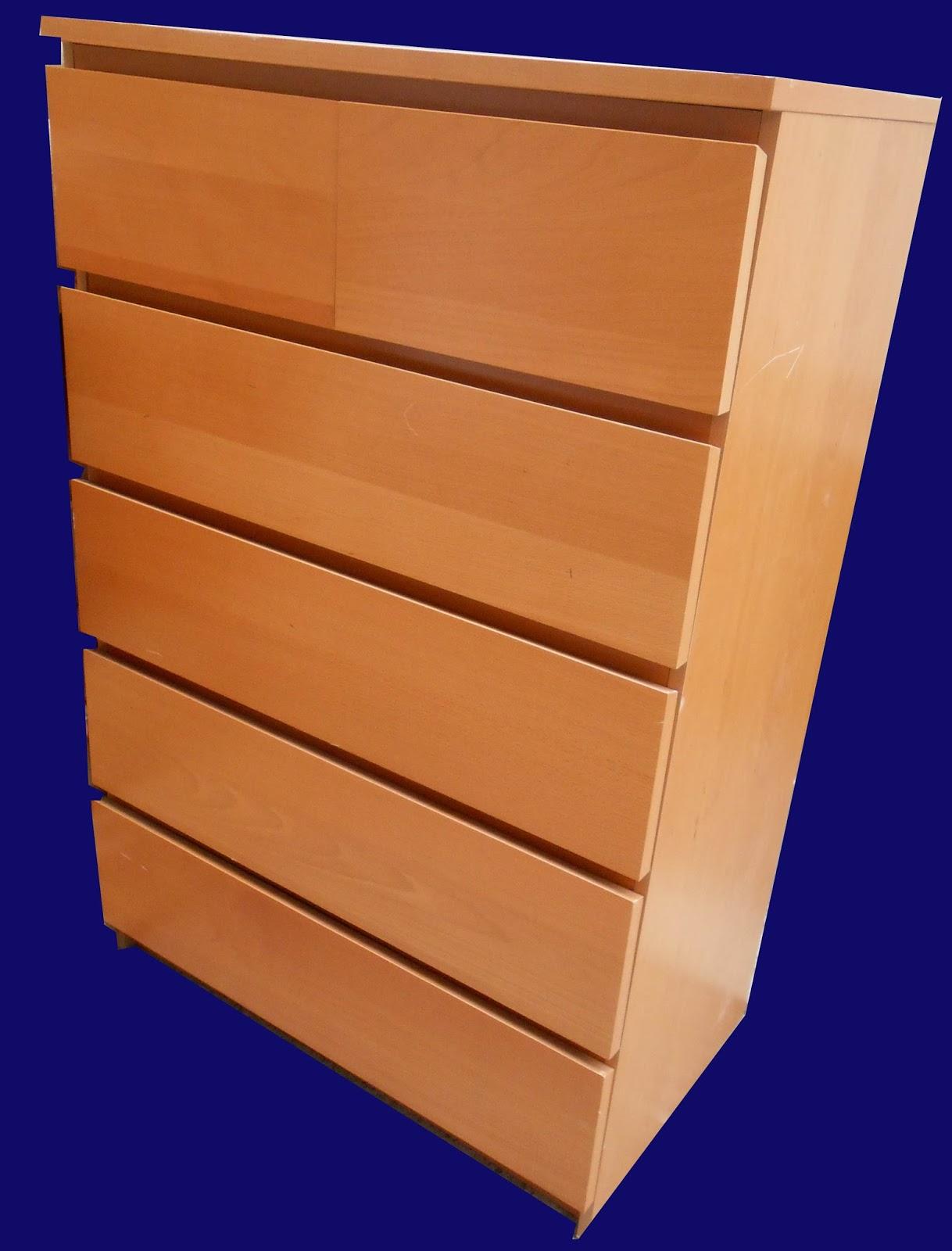 Uhuru Furniture Collectibles Ikea Malm Chest Sold