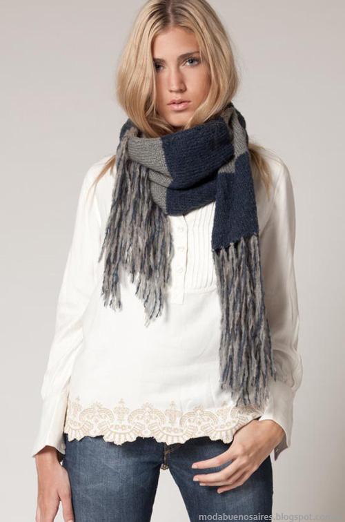 Moda invierno 2013 colección Agostina Bianchi