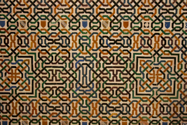 Islamic tile, the Alhambra