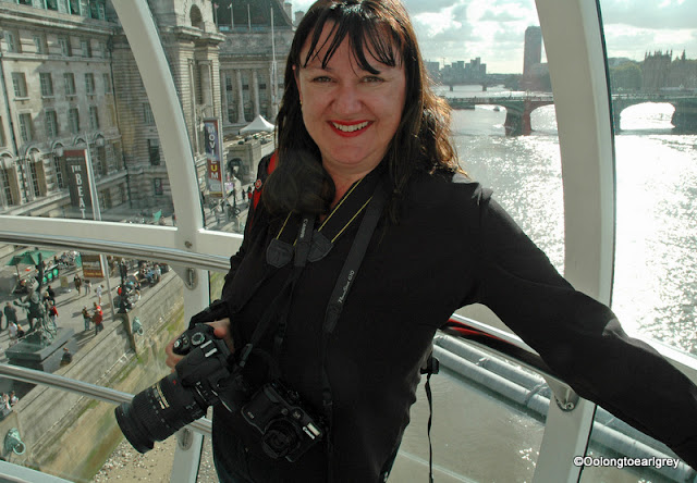 Robyn in the London Eye