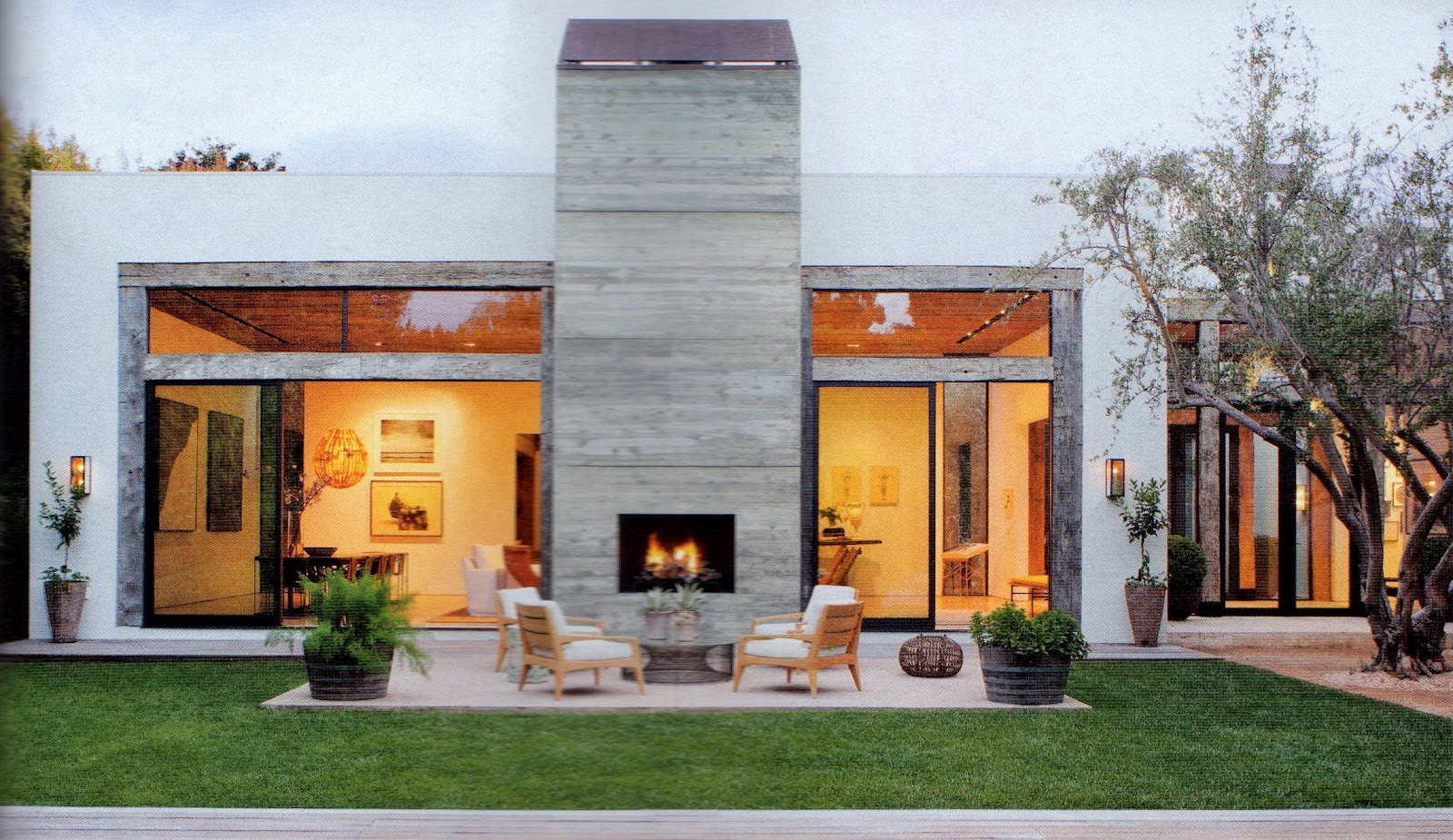 Dwellers Without Decorators: House Envy . Jenni Kayne\'s LA home in AD