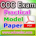 GTU CCC  Practical Exam Model Paper 5 and 6